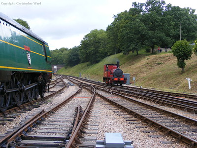 Blackmoor Vale and Baxter at Horsted Keynes