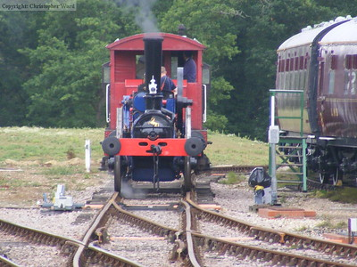 Former Bluebell resident Blue Circle employed on brake van rides
