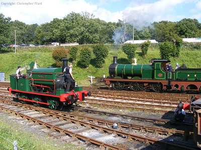 The O1 shunts past Sir Berkeley
