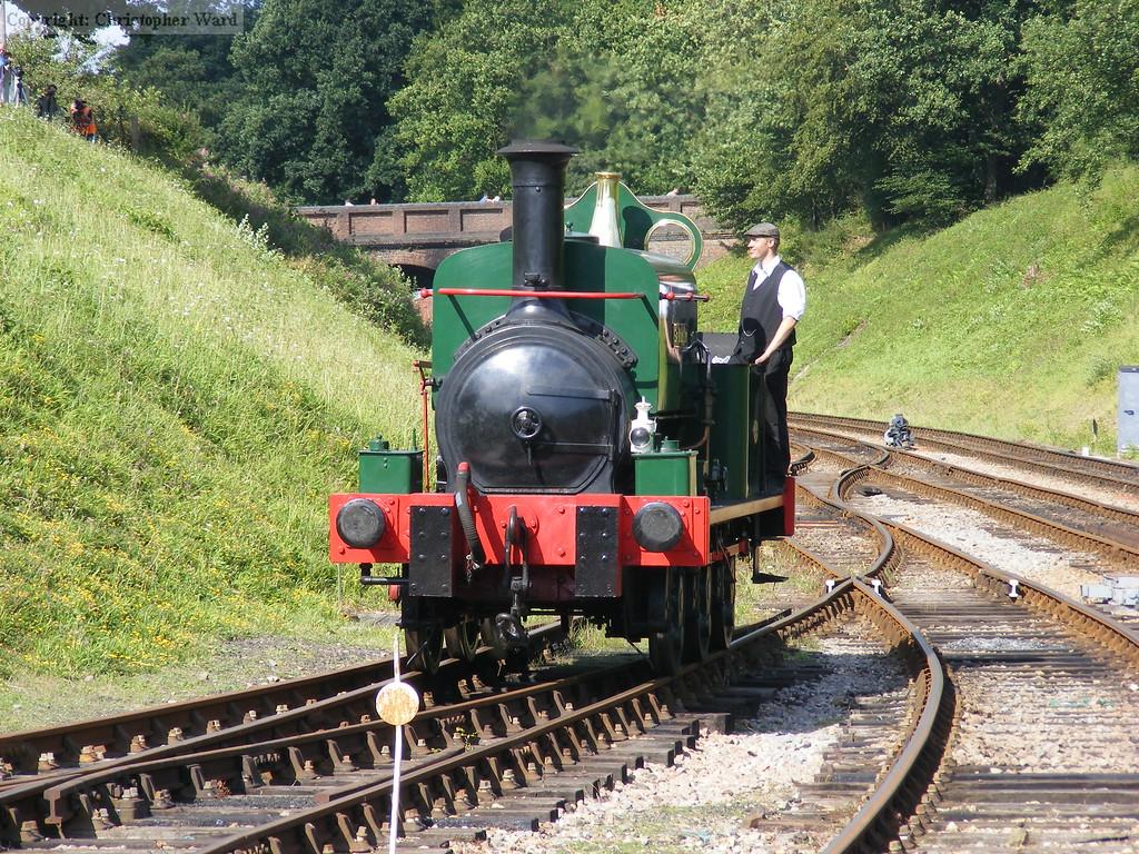 Sir Berkeley in the sidings