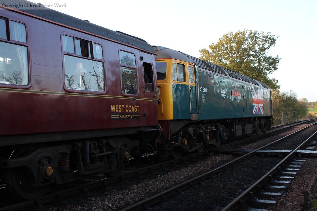 47580, which would take the train back to Bridgnorth via. Birmingham