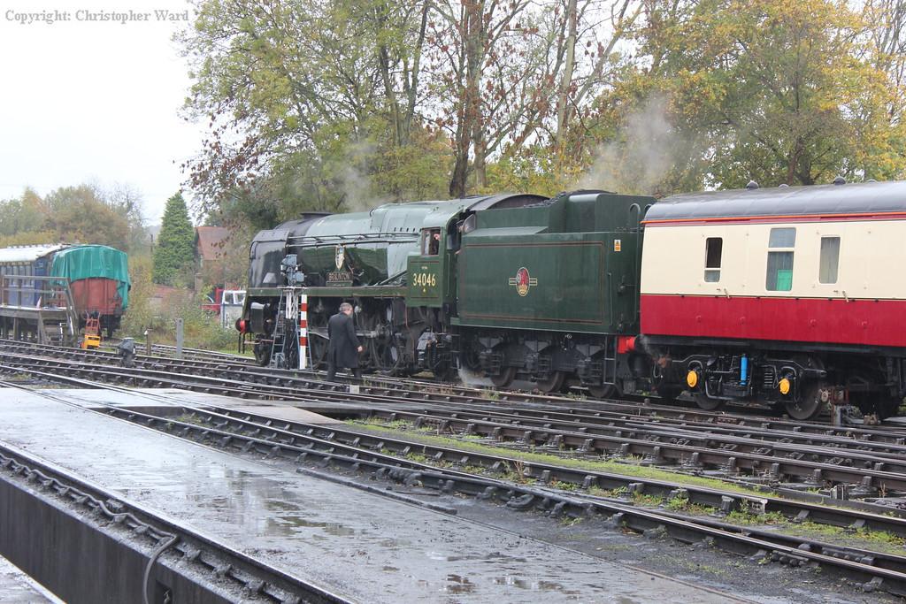 Braunton in the rain