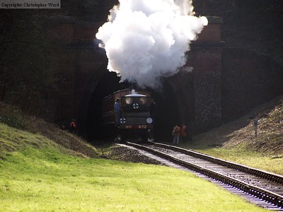 Fenchurch bursts from the tunnel