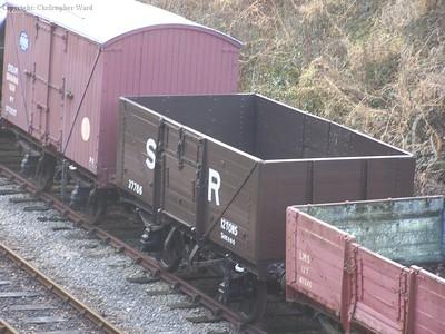 An SR plank wagon