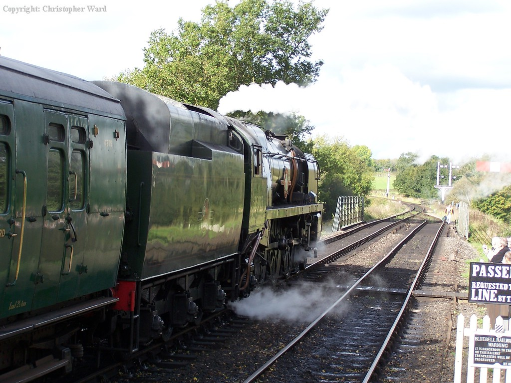 35005 simmers at Sheffield Park
