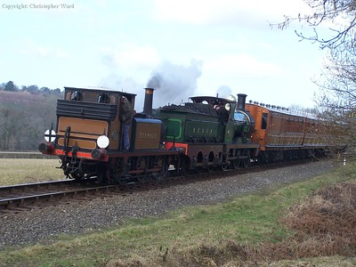 Stepney and the O1 head for Sheffield Park