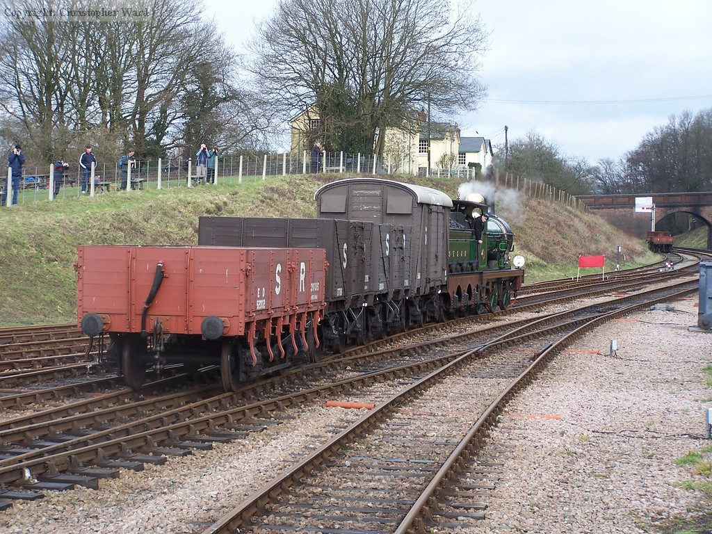 65 shunts some wagons