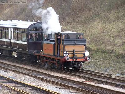 Stepney arrives from Kingscote
