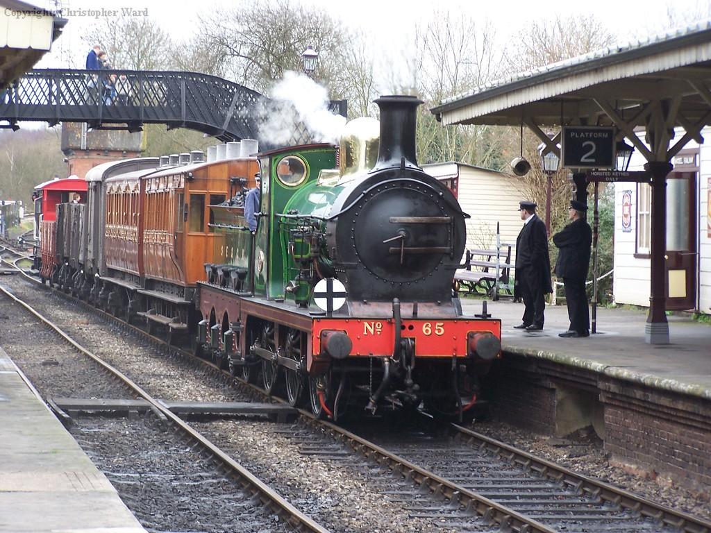 65 shunts the mixed train