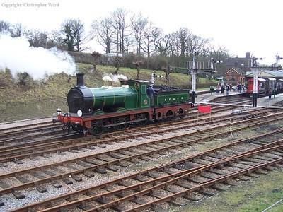 65 runs through the station