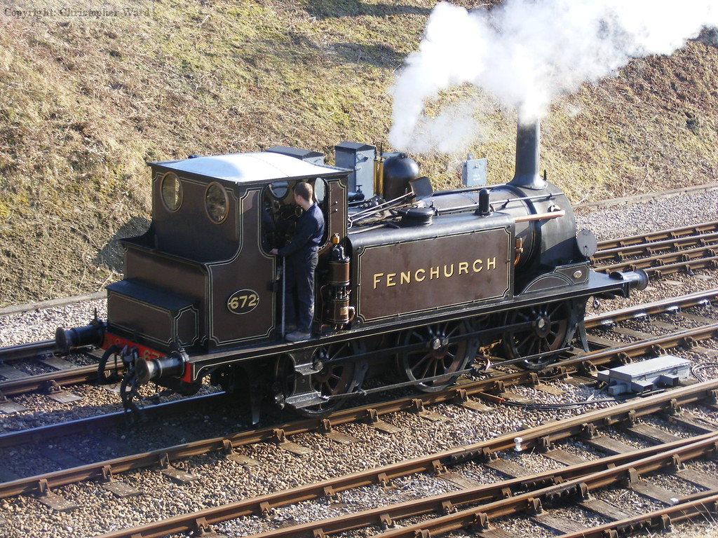 Fenchurch runs round at Horsted