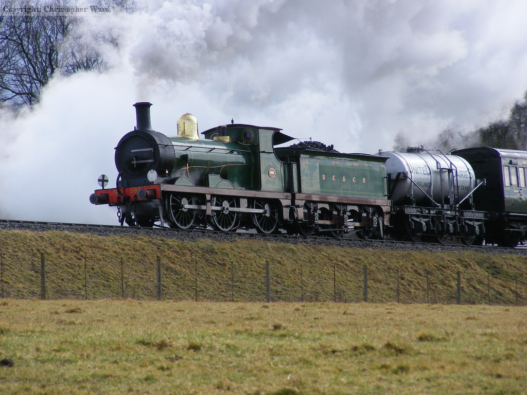 592 steaming freely