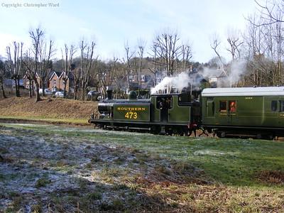 B473 in winter sunshine