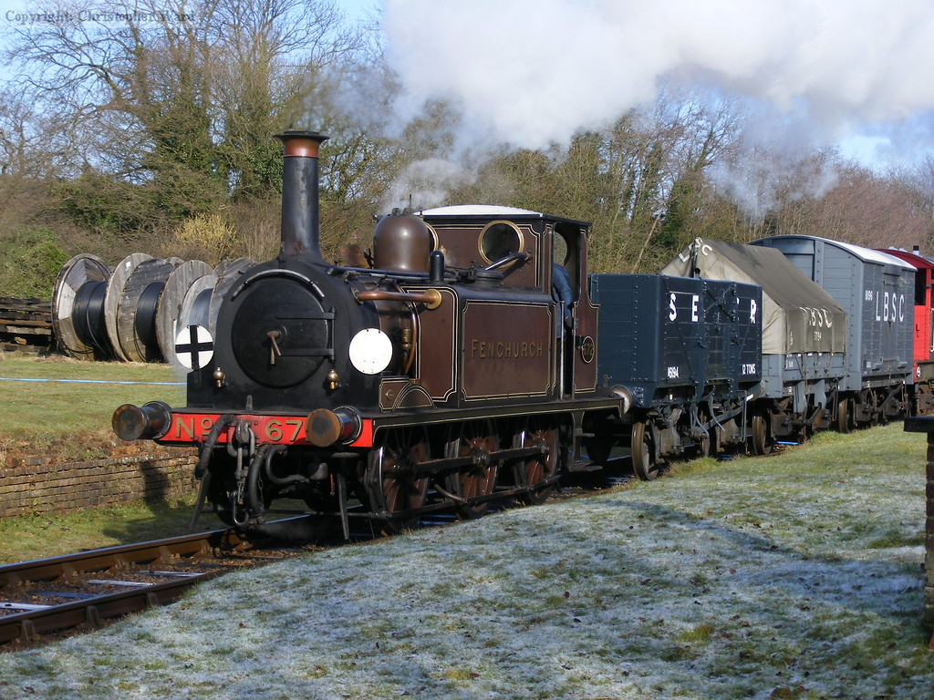 672 catches the sun at West Hoathly