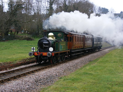 178 leads a train comprised of LCDR brake no. 114, LB&SCR first no. 661 and the LNWR Observation carriage 1503