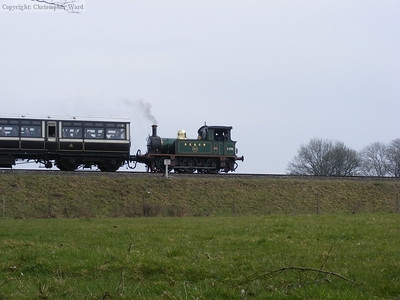 P class 178 drifts out of Horsted