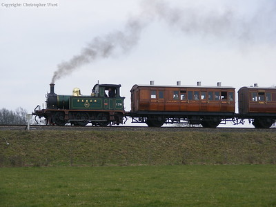 Broadside of 178 with vintage carriages