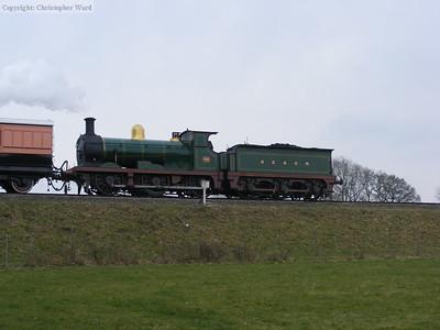 C class 592 returns southward