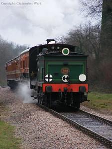 C class 592 drifts south