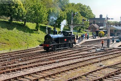 1054 runs round her train