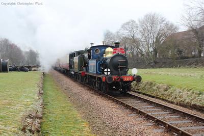 The Grinsteade Belle breakfast train returns to Sheffield Park