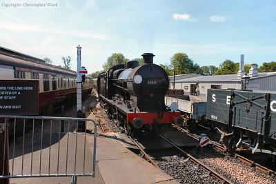 30541 draws into the platform
