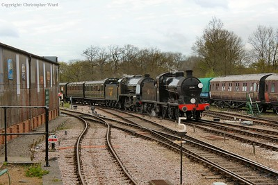 Two of Maunsell's finest team up with the classic Southern Railway coaching stock