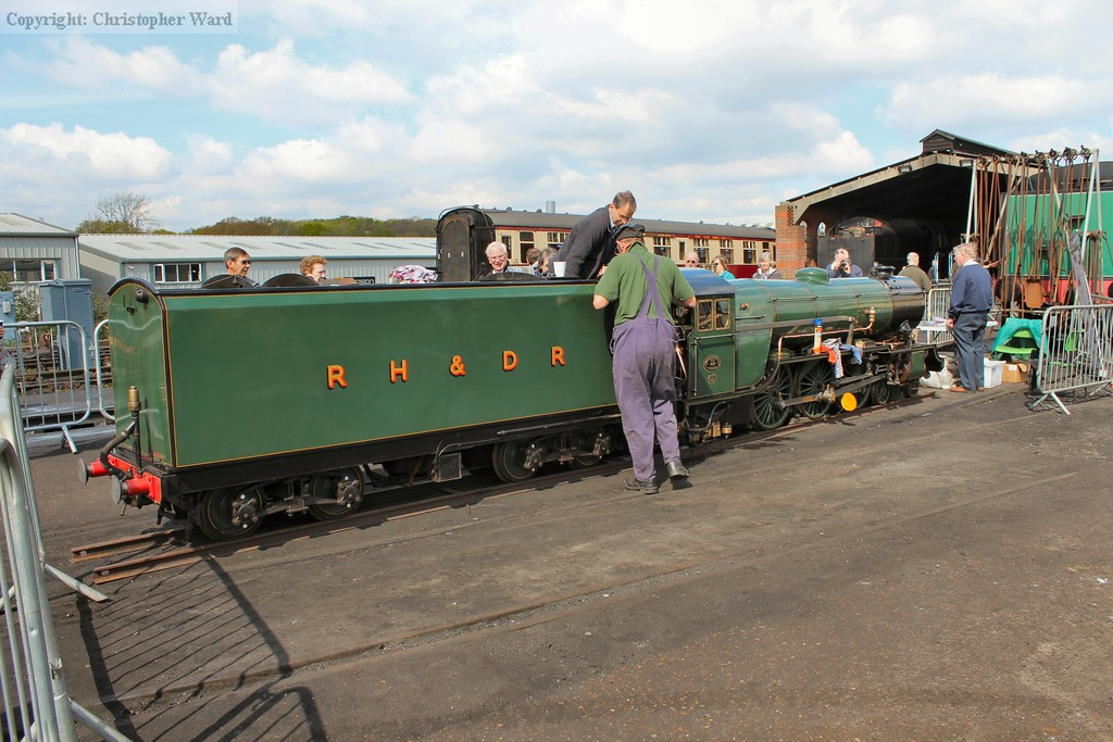Typhoon, visiting for the event from the RHDR