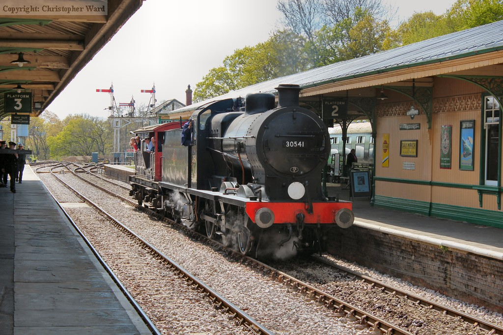 With the service trains out of the way, the Q prepares to take another brake van special