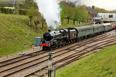 Camelot gets away from Horsted Keynes with another up train