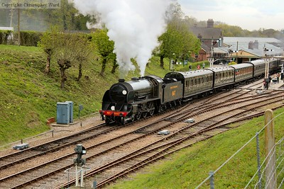 The S15 gets away from Horsted Keynes with another East Grinstead working