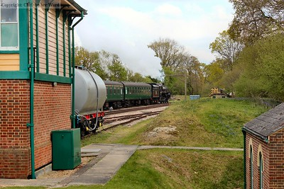 The Standard Five sets off up the hill to Imberhorne and East Grinstead