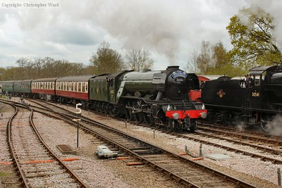 Flying Scotsman in Sussex