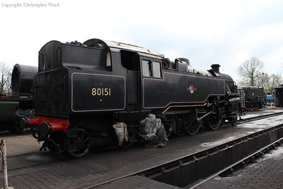 80151 on the new locomotive pit