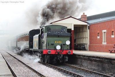 B473 waits time and creates an atmosphere at Sheffield Park