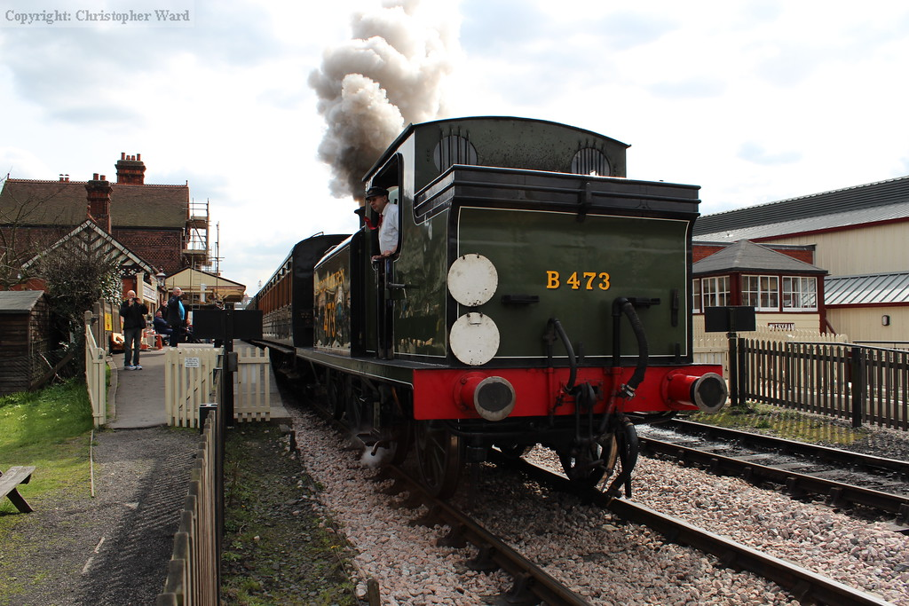 B473 gets to grips with the train