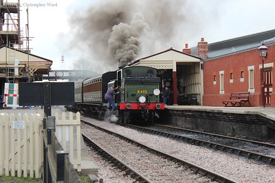 B473 smokes out the station