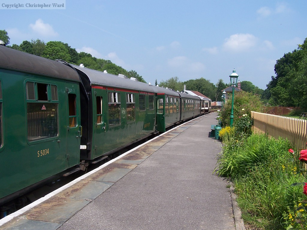 Some of the wonderfully restored carriages