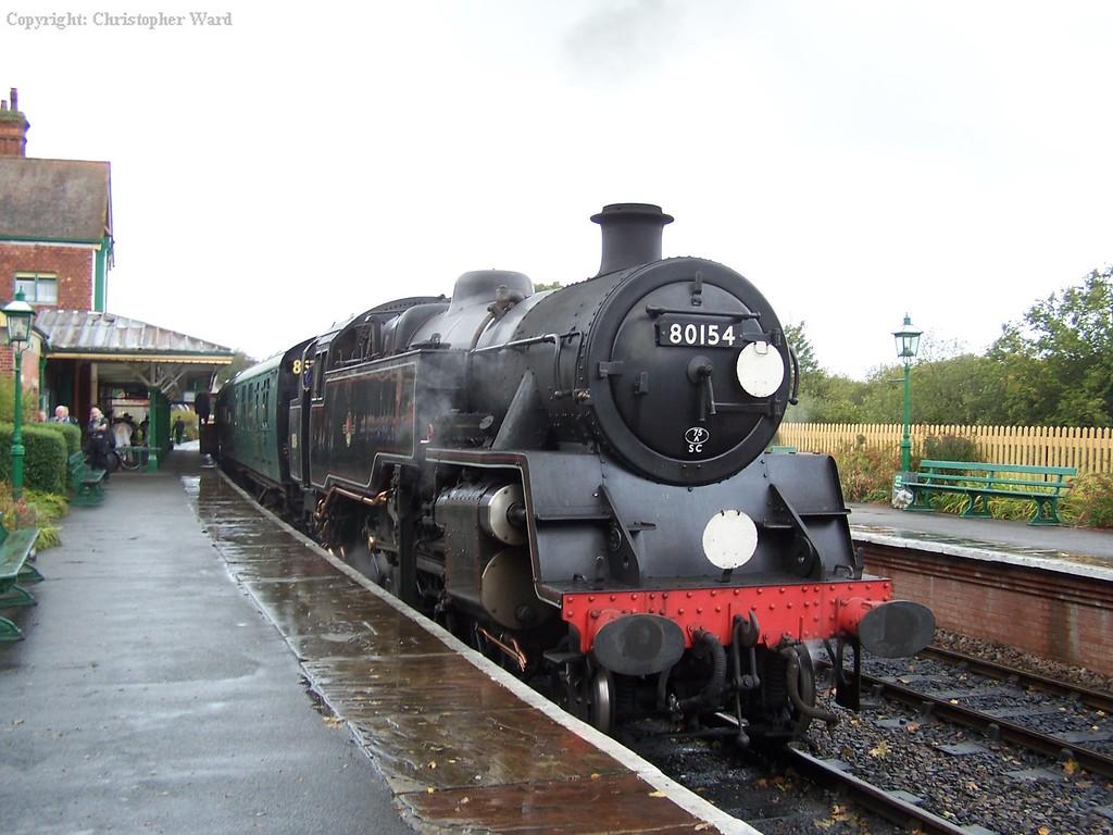 80151 (as 80154) at Kingscote