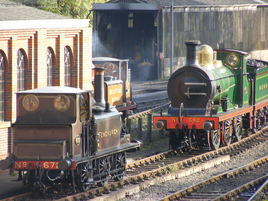 Smaller engines consigned to the sidings