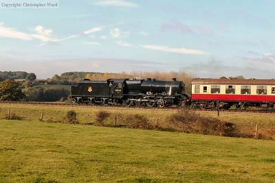 48624 heads away bound for Sheffield Park