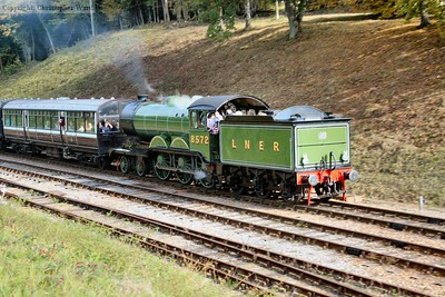 LNER and LNWR together as the B12 and the Obo pair up