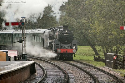 Camelot, running for the weekend as 73087 Linette, arrives in atrocious weather conditions
