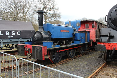 Sharpthorne, the engine which helped build the line