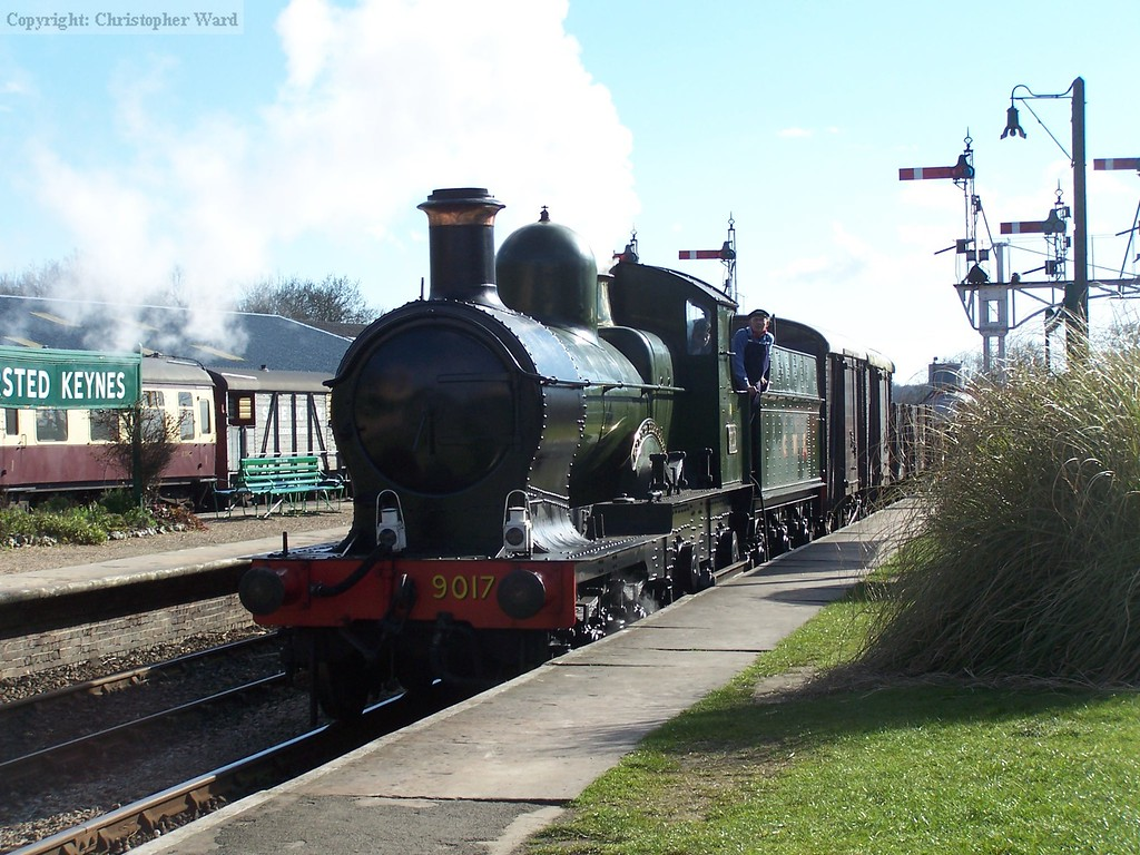 9017 steams through