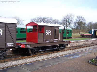 SR Pillbox brake van