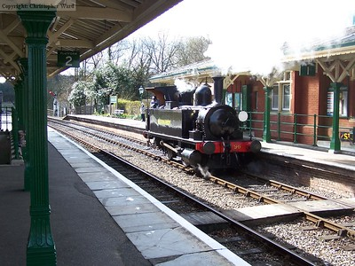 96 runs round its goods train
