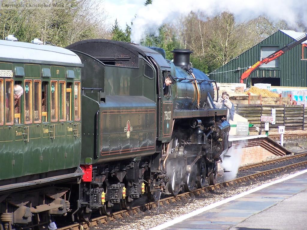 75027 upon arrival at Kingscote