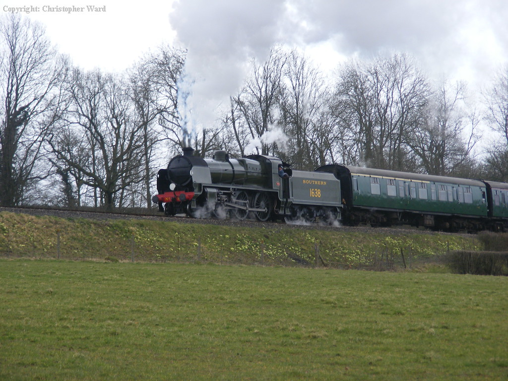 1638 in the damp weather at Horsted