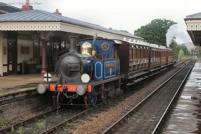 A very vintage train